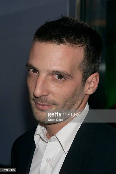 Actor Mathieu Kassovitz arrives at a screening of 'Amelie' at The Paris Theater in New York City 10/15/01 Photo by Scott Gries/ImageDirect