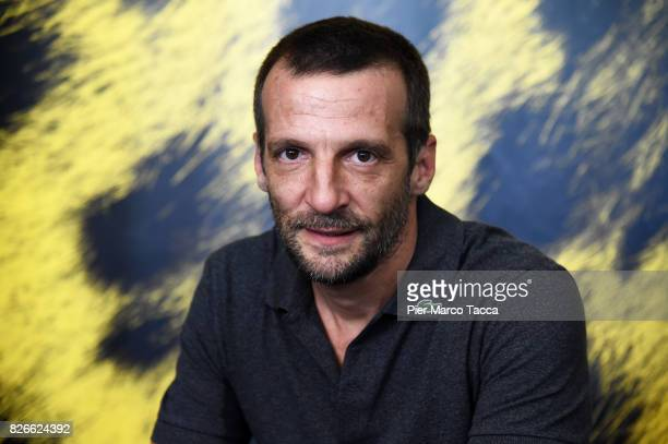 Actor Mathieu Kassovitz attends a 'Sparring' photocall during the 70th Locarno Film Festival on August 5 2017 in Locarno Switzerland