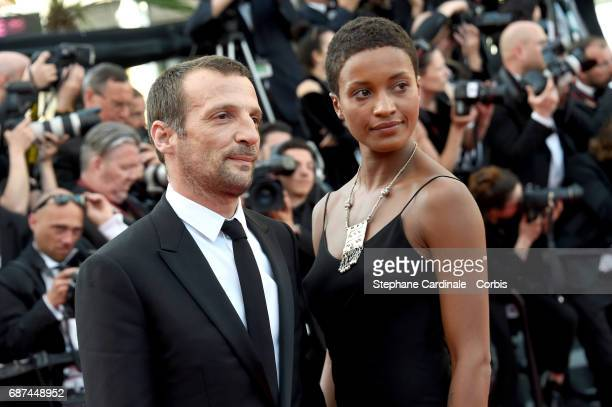 Actor Mathieu Kassovitz attends the 70th Anniversary of the 70th annual Cannes Film Festival at Palais des Festivals on May 23 2017 in Cannes France