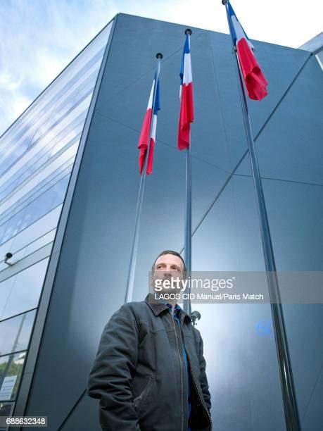Actor Mathieu Kassovitz is photographed for Paris Match on April 24 2017 in Paris France