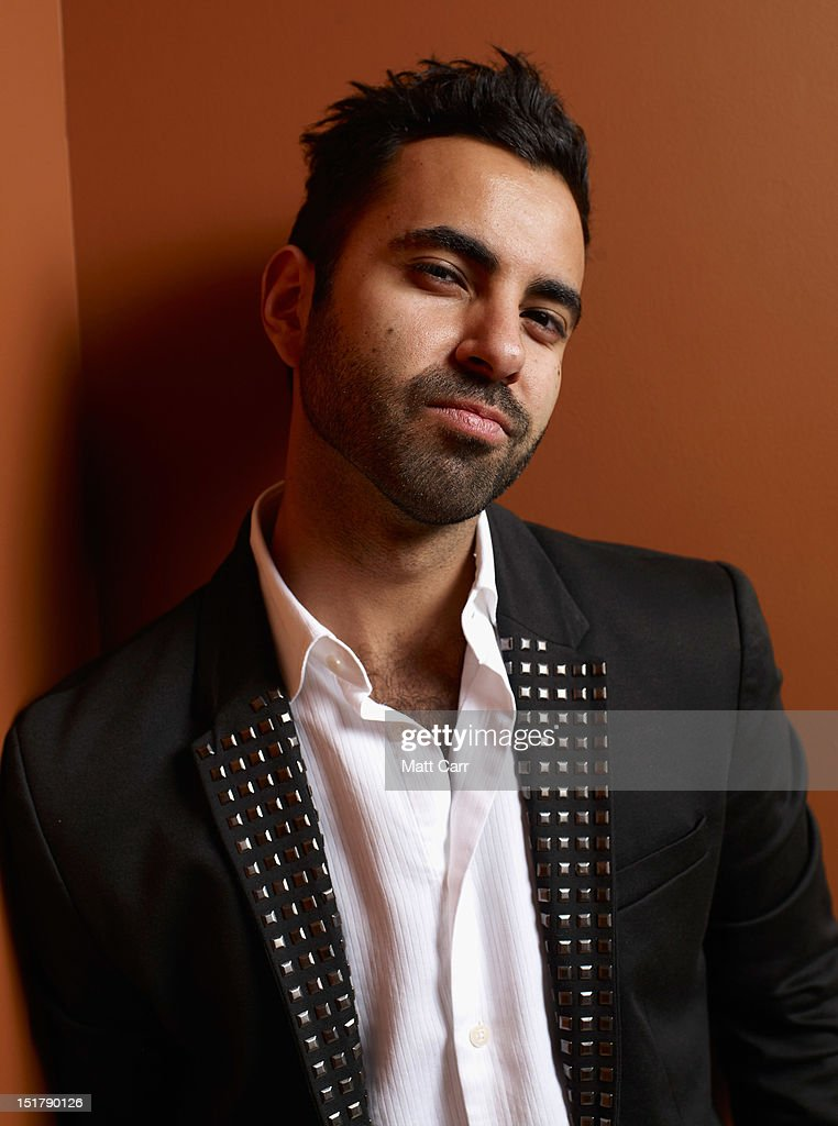 Actor Matias Lopez of 'Aftershock' poses at the Guess Portrait Studio during 2012 Toronto International Film Festival on September 11 2012 in Toronto...