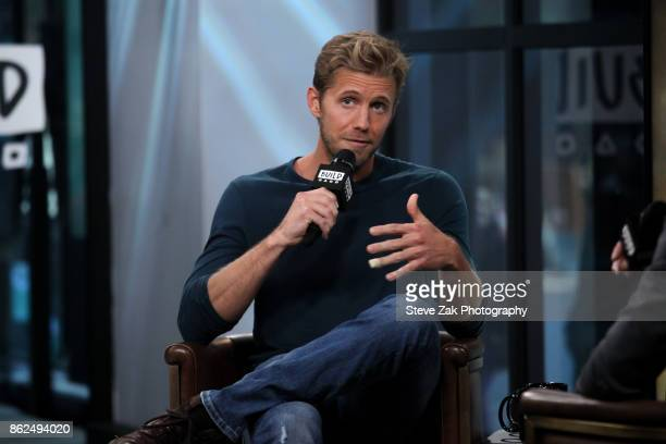 Actor Matt Barr attends Build Series to discuss his show 'Valor' at Build Studio on October 17 2017 in New York City