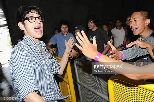 Actor Matt Bennett attends the 'Do Something Awards event at Six Flags Magic Mountain hosted by VH1 on August 15 2011 in Valencia California