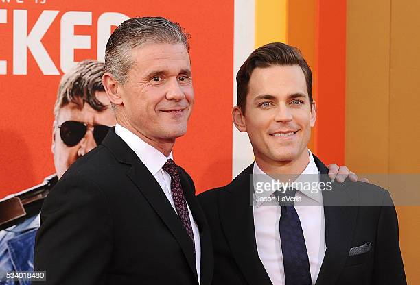 Actor Matt Bomer and husband Simon Halls attend the premiere of 'The Nice Guys' at TCL Chinese Theatre on May 10 2016 in Hollywood California