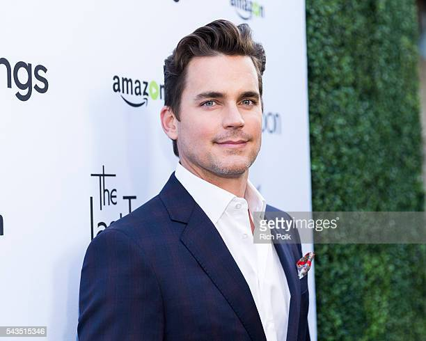 Actor Matt Bomer arrives at Sony Pictures Television Social Soiree Featuring Amazon Pilots 'The Last Tycoon' And 'The Interestings' at Sony Pictures...