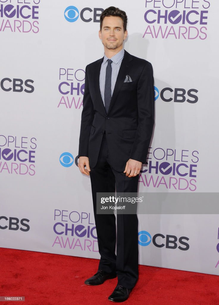 Actor Matt Bomer arrives at the 2013 People's Choice Awards at Nokia Theatre L.A. Live on January 9, 2013 in Los Angeles, California.