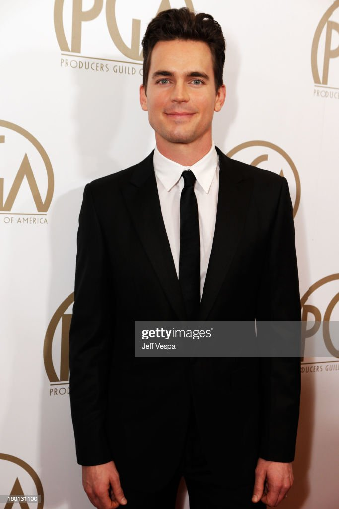 Actor Matt Bomer arrives at the 24th Annual Producers Guild Awards held at The Beverly Hilton Hotel on January 26, 2013 in Beverly Hills, California.