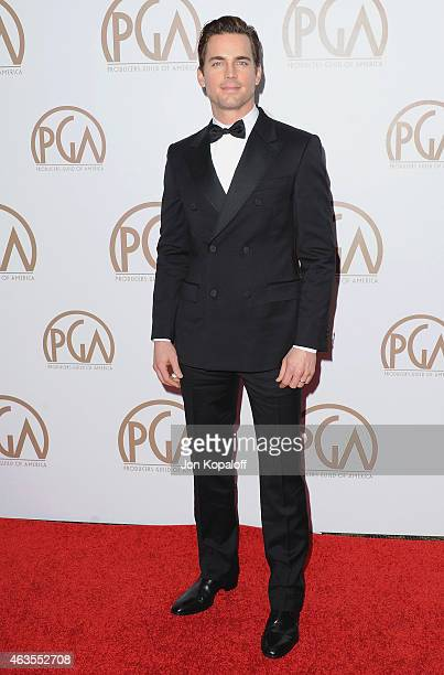 Actor Matt Bomer arrives at the 26th Annual PGA Awards at the Hyatt Regency Century Plaza on January 24 2015 in Los Angeles California