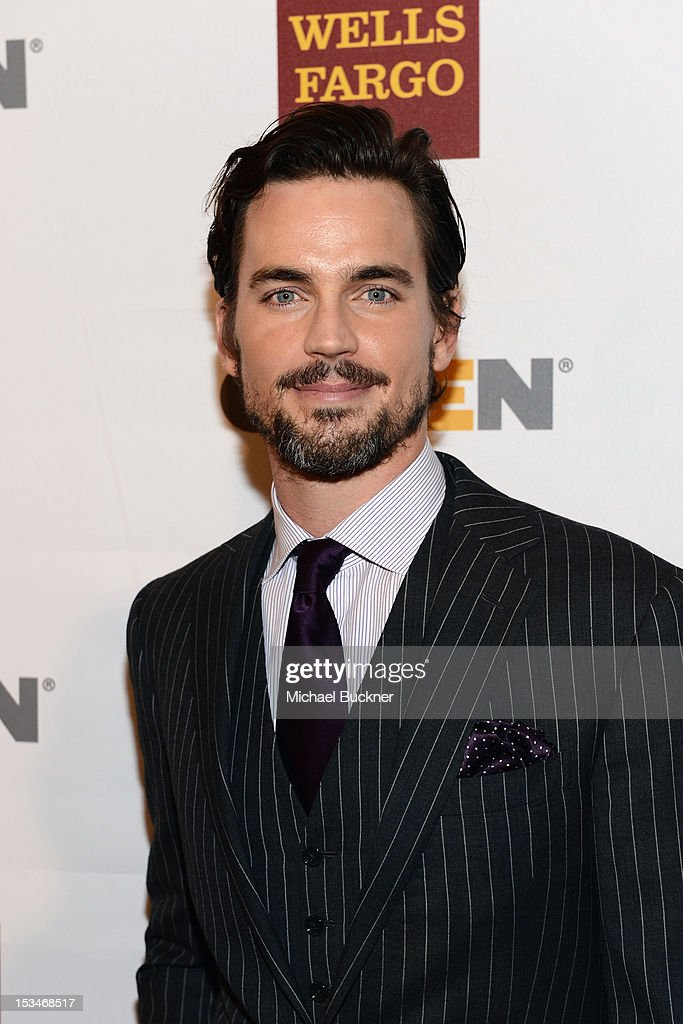 Actor <a gi-track='captionPersonalityLinkClicked' href=/galleries/search?phrase=Matt+Bomer&family=editorial&specificpeople=2960058 ng-click='$event.stopPropagation()'>Matt Bomer</a> arrives at the 8th Annual GLSEN Respect Awards held at Beverly Hills Hotel on October 5, 2012 in Beverly Hills, California.
