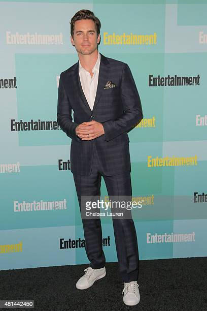 Actor Matt Bomer arrives at the Entertainment Weekly celebration at Float at Hard Rock Hotel San Diego on July 11 2015 in San Diego California