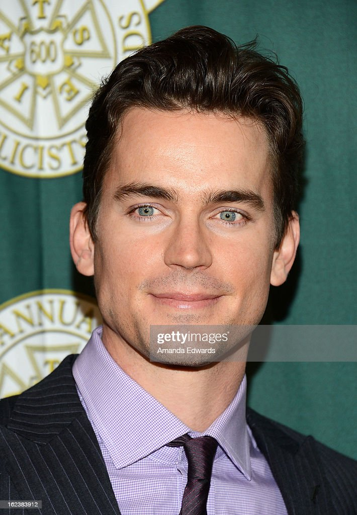 Actor <a gi-track='captionPersonalityLinkClicked' href=/galleries/search?phrase=Matt+Bomer&family=editorial&specificpeople=2960058 ng-click='$event.stopPropagation()'>Matt Bomer</a> arrives at the ICG 50th Annual Publicists Awards at The Beverly Hilton Hotel on February 22, 2013 in Beverly Hills, California.