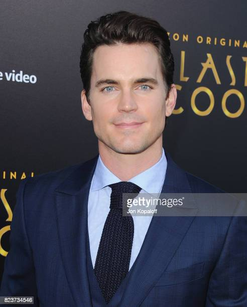 Actor Matt Bomer arrives at the Premiere Of Amazon Studios' 'The Last Tycoon' at the Harmony Gold Preview House and Theater on July 27 2017 in...