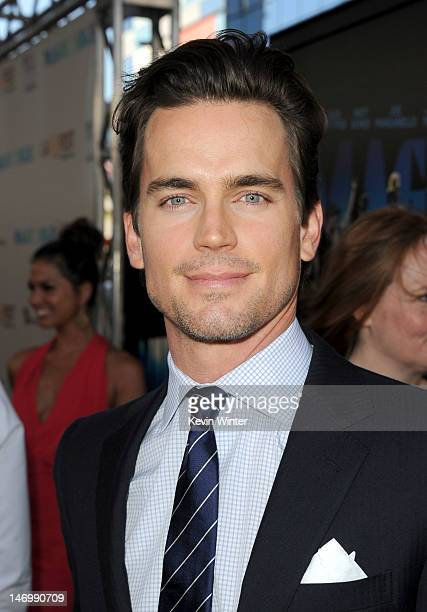 Actor Matt Bomer arrives at the premiere of Warner Bros Pictures' 'Magic Mike' during the 2012 Los Angeles Film Festival at Regal Cinemas LA Live on...