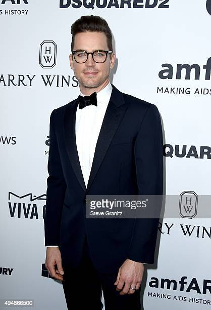 Actor Matt Bomer attends amfAR's Inspiration Gala Los Angeles at Milk Studios on October 29 2015 in Hollywood California