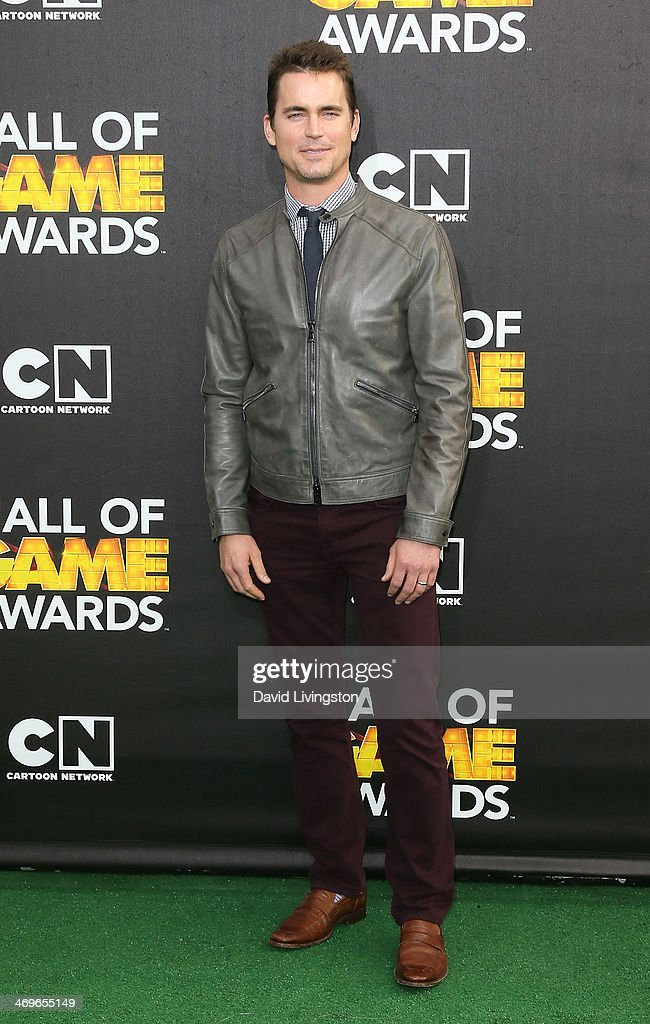 Actor <a gi-track='captionPersonalityLinkClicked' href=/galleries/search?phrase=Matt+Bomer&family=editorial&specificpeople=2960058 ng-click='$event.stopPropagation()'>Matt Bomer</a> attends Cartoon Network's Hall of Game Awards at Barker Hangar on February 15, 2014 in Santa Monica, California.