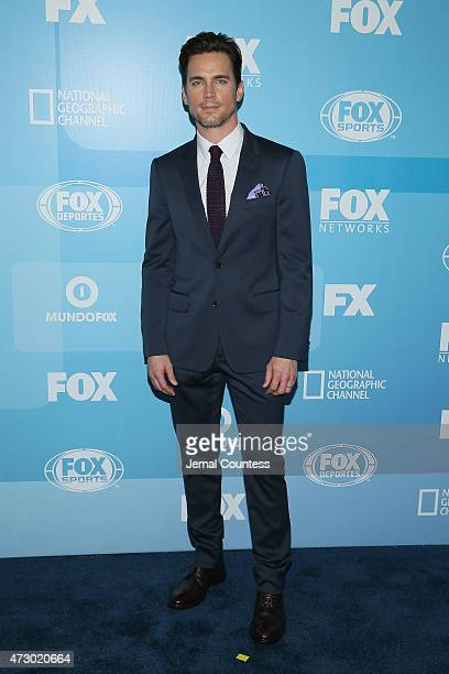 Actor Matt Bomer attends the 2015 FOX programming presentation at Wollman Rink in Central Park on May 11 2015 in New York City