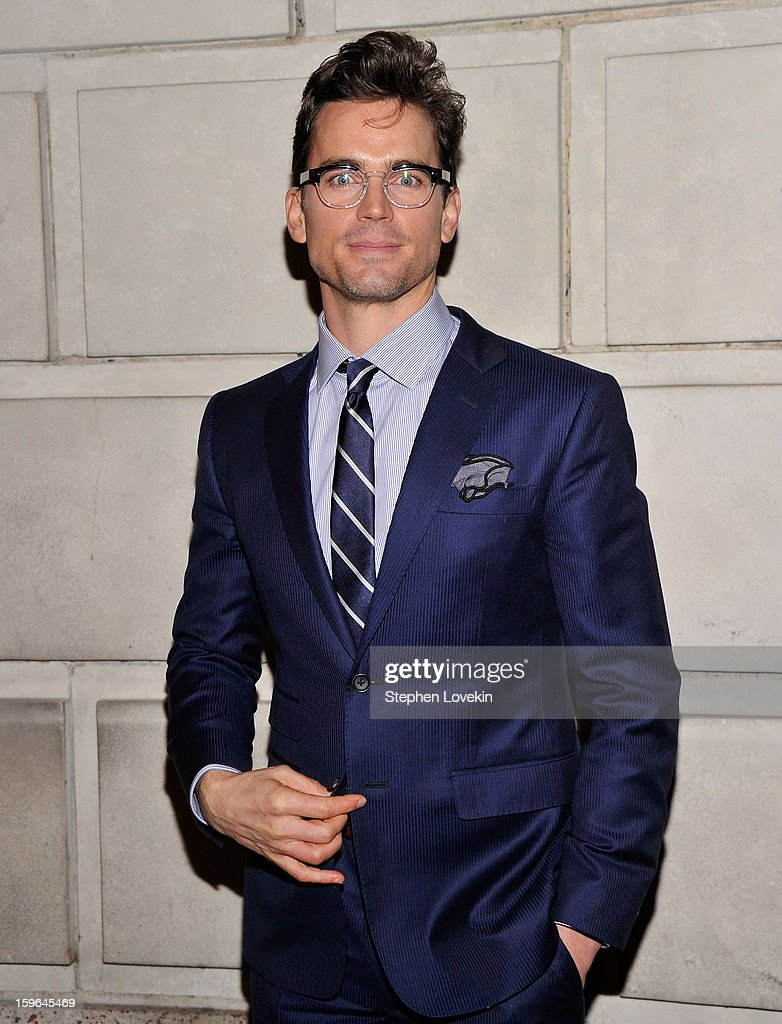Actor Matt Bomer attends the 'Cat On A Hot Tin Roof' Opening Night at Richard Rodgers Theatre on January 17, 2013 in New York City.