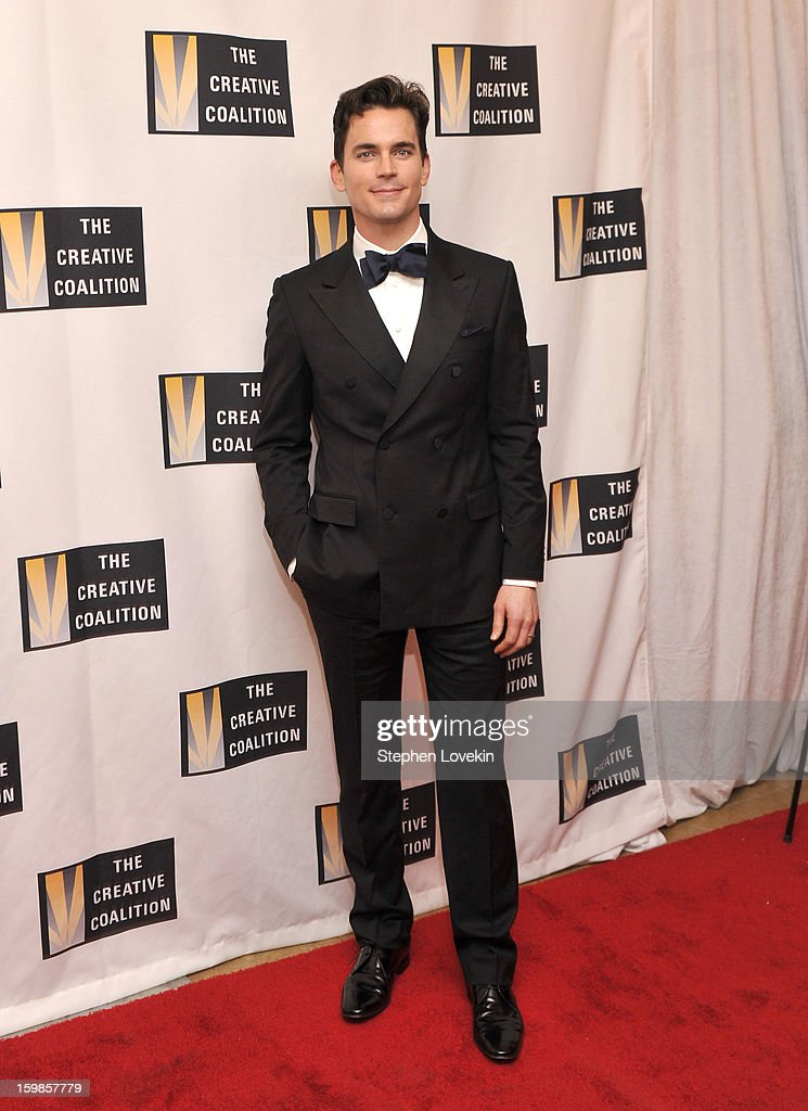 Actor Matt Bomer attends The Creative Coalition's 2013 Inaugural Ball at the Harman Center for the Arts on January 21, 2013 in Washington, United States.