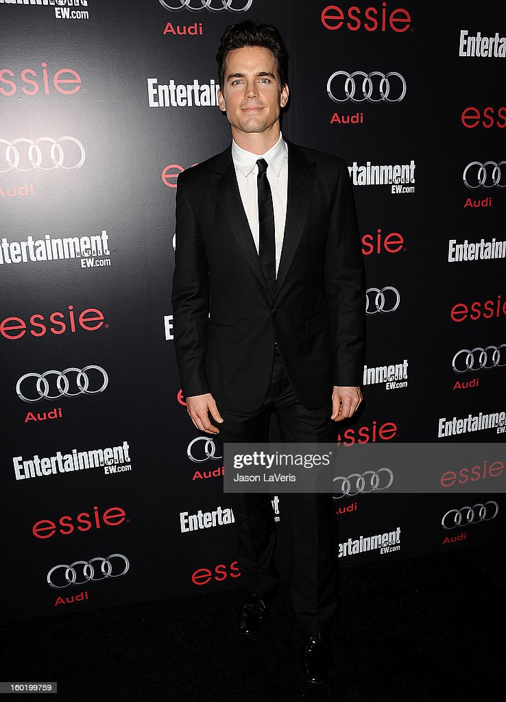Actor Matt Bomer attends the Entertainment Weekly Screen Actors Guild Awards pre-party at Chateau Marmont on January 26, 2013 in Los Angeles, California.