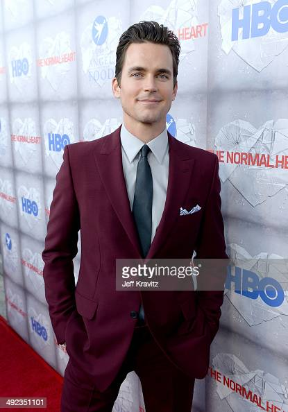 Actor Matt Bomer attends the HBO Premiere Of 'The Normal Heart' at The WGA Theater on May 19 2014 in Beverly Hills California