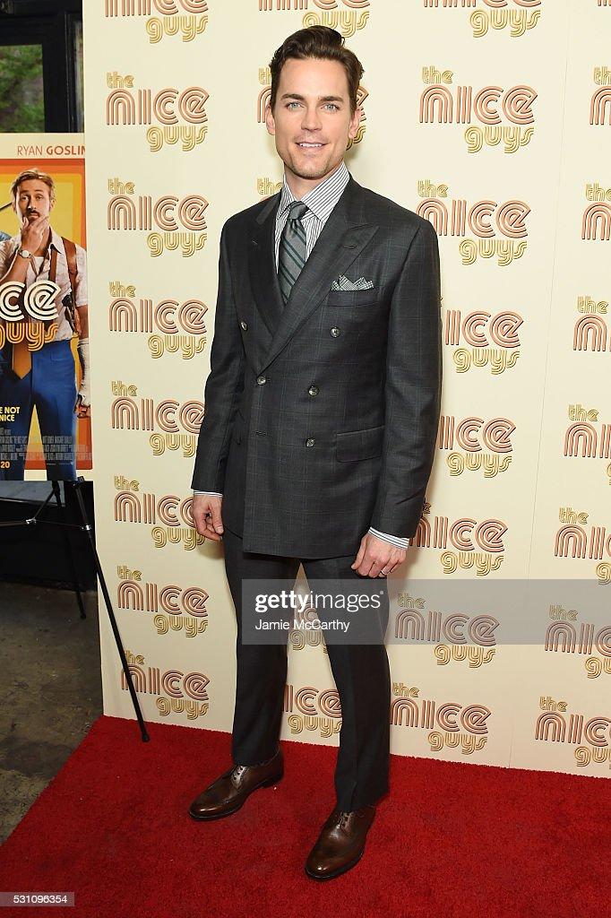 Actor Matt Bomer attends 'The Nice Guys' New York Screening at Metrograph on May 12, 2016 in New York City.