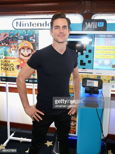 Actor Matt Bomer attends The Nintendo Lounge on the TV Guide Magazine yacht during ComicCon International 2015 on July 11 2015 in San Diego California