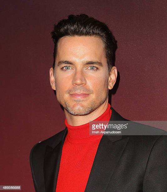 Actor Matt Bomer attends the premiere of FOX TV's 'Scream Queens' at The Wilshire Ebell Theatre on September 21 2015 in Los Angeles California