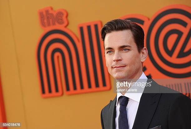 Actor Matt Bomer attends the premiere of 'The Nice Guys' at TCL Chinese Theatre on May 10 2016 in Hollywood California