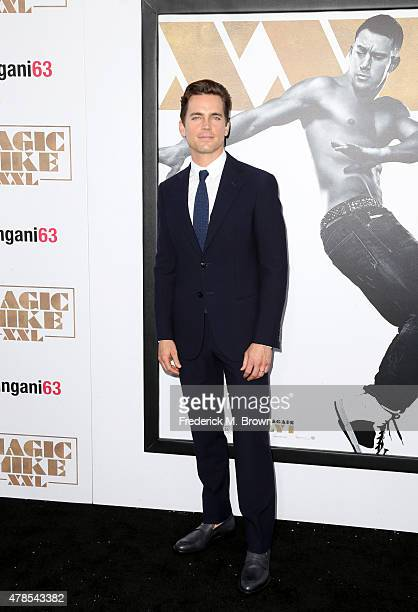 Actor Matt Bomer attends the premiere of Warner Bros Pictures' 'Magic Mike XXL' at TCL Chinese Theatre IMAX on June 25 2015 in Hollywood California