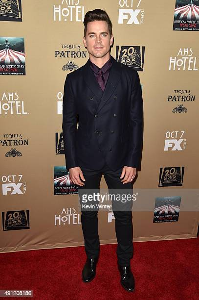 Actor Matt Bomer attends the premiere screening of FX's 'American Horror Story Hotel' at Regal Cinemas LA Live on October 3 2015 in Los Angeles...