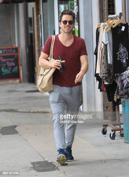 Actor Matt Bomer is seen on November 1 2017 in Los Angeles CA