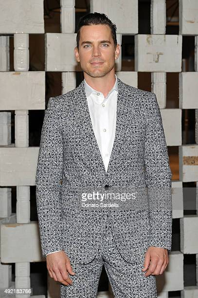 Actor Matt Bomer wearing Bottega Veneta attends the Hammer Museum Gala in Garden sponsored by Bottega Veneta at Hammer Museum on October 10 2015 in...