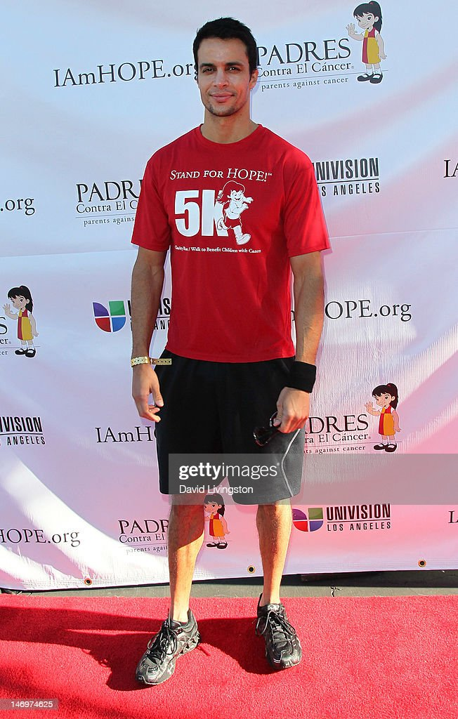 Actor <a gi-track='captionPersonalityLinkClicked' href=/galleries/search?phrase=Matt+Cedeno&family=editorial&specificpeople=1667087 ng-click='$event.stopPropagation()'>Matt Cedeno</a> attends Padres Contra El Cancer's 5th Annual Stand for HOPE! 5k Run/Walk at the Rose Bowl on June 24, 2012 in Pasadena, California.
