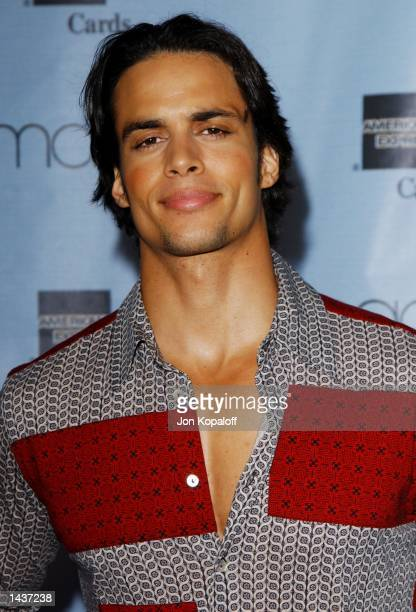 Actor Matt Cedeno attends the Macy's and American Express Passport 20/02 20th Anniversary Gala on September 28 2002 at Santa Monica Barker Hanger in...