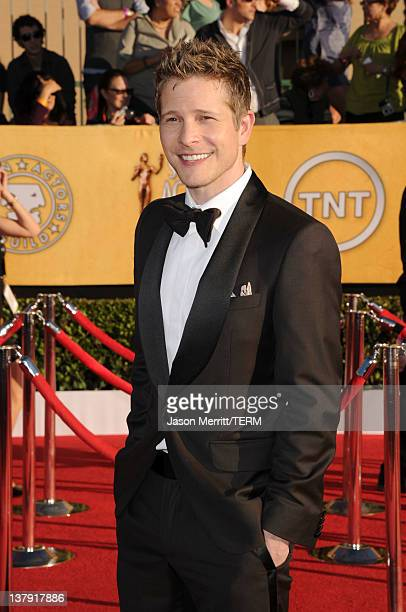 Actor Matt Czuchry arrives at the 18th Annual Screen Actors Guild Awards at The Shrine Auditorium on January 29 2012 in Los Angeles California