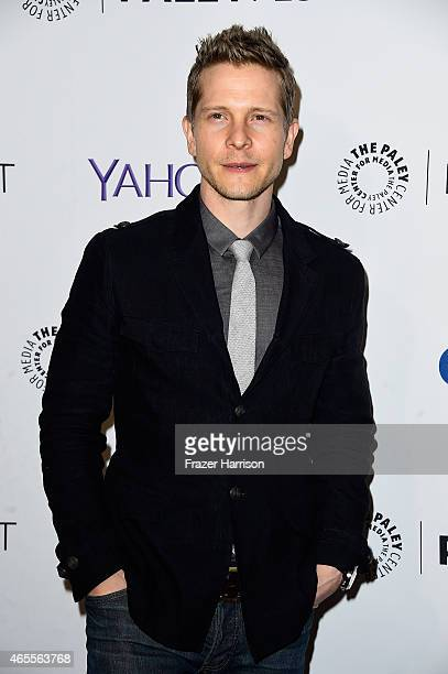 Actor Matt Czuchry arrives at The Paley Center For Media's 32nd Annual PALEYFEST LA 'The Good Wife' at Dolby Theatre on March 7 2015 in Hollywood...