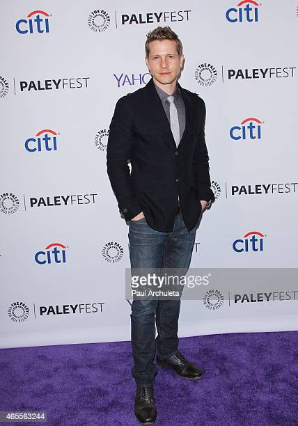Actor Matt Czuchry attends the 32nd annual PALEYFEST LA featuring 'The Good Wife' presented by the Paley Center for media at The Dolby Theatre on...