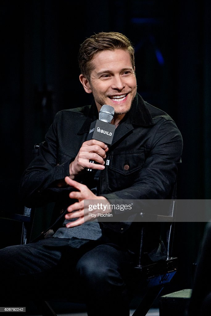 Actor Matt Czuchry discusses 'Gilmore Girls: A Year In The Life' with the Build Series at AOL HQ on November 30, 2016 in New York City.