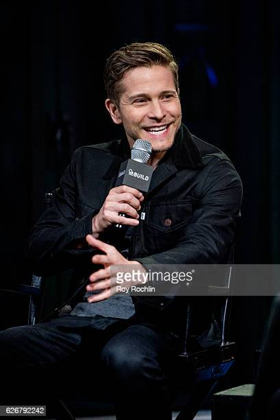Actor Matt Czuchry discusses 'Gilmore Girls A Year In The Life' with the Build Series at AOL HQ on November 30 2016 in New York City