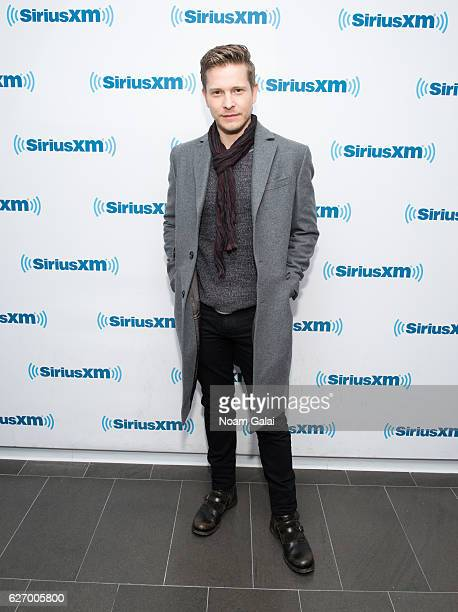 Actor Matt Czuchry visits the SiriusXM Studio on December 1 2016 in New York City