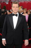 Actor Matt Damon arrives at the 82nd Annual Academy Awards held at Kodak Theatre on March 7 2010 in Hollywood California