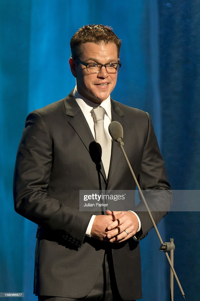 Actor Matt Damon Attending The Clinton Global Initiative, At The Sheraton Hotel And Towers In New York, Usa. .