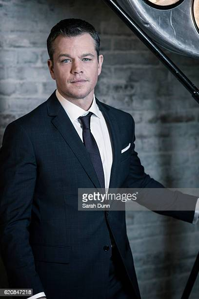 Actor Matt Damon is photographed for Empire magazine on March 20 2016 in London United Kingdom
