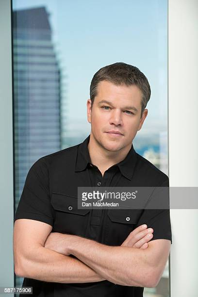 Actor Matt Damon is photographed for USA Today on July 18 2016 in Las Vegas Nevada