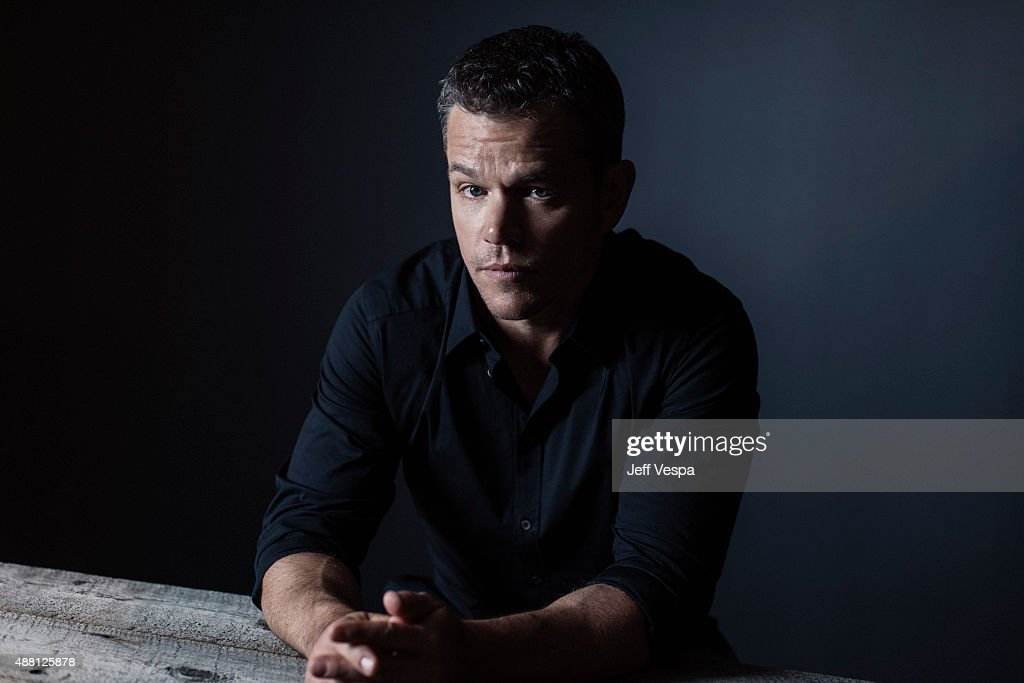 Actor <a gi-track='captionPersonalityLinkClicked' href=/galleries/search?phrase=Matt+Damon&family=editorial&specificpeople=202093 ng-click='$event.stopPropagation()'>Matt Damon</a> of 'The Martian' poses for a portrait at the 2015 Toronto Film Festival at the TIFF Bell Lightbox on September 12, 2015 in Toronto, Ontario.