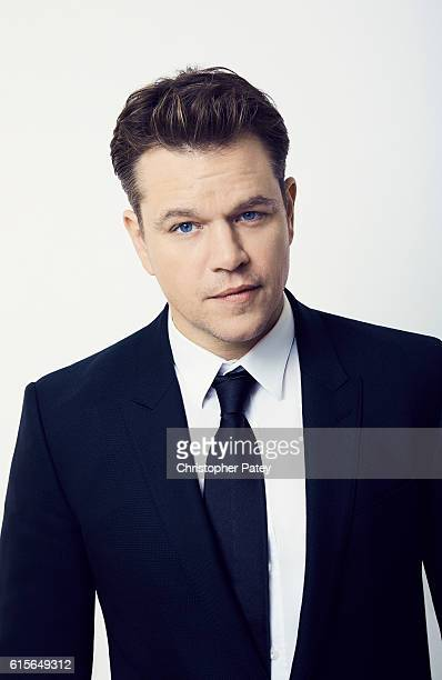 Actor Matt Damon poses for a portrait at the 2016 American Cinematheque Awards on October 14 2016 in Beverly Hills California