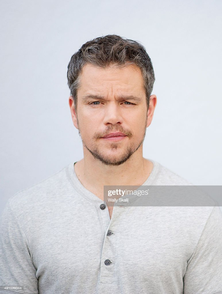 Matt Damon, Los Angeles Times, September 30, 2015 | Getty Images