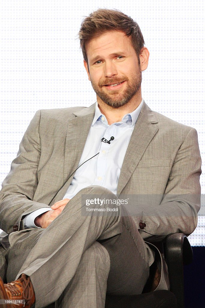 Actor Matt Davis of the TV show 'Cult' attends the 2013 TCA Winter Press Tour CW/CBS panel held at The Langham Huntington Hotel and Spa on January 13, 2013 in Pasadena, California.