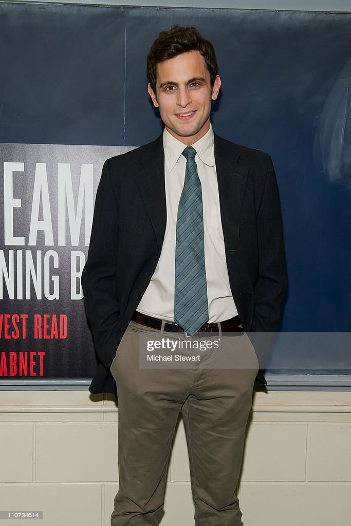 Actor Matt Dellapina attends the opening night of 'The Dream of the Burning Boy' at Roundabout Theatre Company Black Box Theatre on March 23, 2011 in New York City.