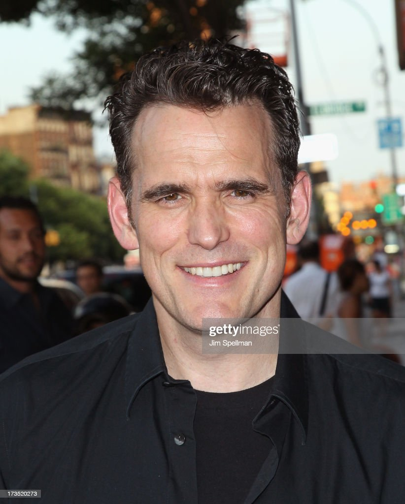 Actor Matt Dillon attends the Lionsgate And Roadside Attractions With The Cinema Society Screening Of 'Girl Most Likely' at Landmark's Sunshine Cinema on July 15, 2013 in New York City.